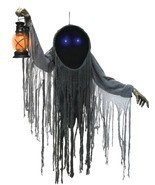 Hanging Looming Phantom Prop Lifesize 5 ft  Halloween Decor FAST SHIP - $116.24 CAD