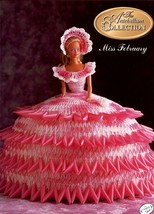 Miss February 1991 Antebellum Barbie Bed Doll Crochet PATTERN/INSTRUCTIONS - $1.77