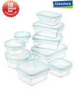 Kitchen Food Storage Airtight Glass Container 18pc Set Microwave and Ove... - $78.95