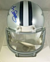 TONY DORSETT / NFL HALL OF FAME / HAND SIGNED DALLAS COWBOYS CUSTOM JERSEY / COA image 4