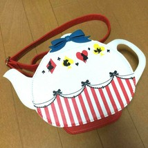 Disney Store Japan Alice in the Wonderland ALICE PARTY Tea pot Shoulder bag - $62.37