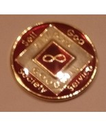Narcotics Anonymous Tri Plated Medallion - Eternity - you choose the color - $22.00