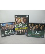 Lot of 3 Games CSI: Crime Scene Investigation Dark Motives , Hard Eviden... - $23.99