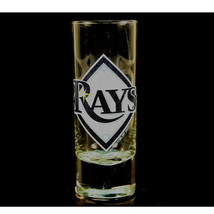 MLB Tampa Bay Rays 2oz. Highlight Cordial Shot Glass - Bar Logo Shotglass - $10.74
