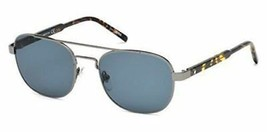 Montblanc Sonnenbrille MB602S 55V Farbig Havanna / Blaue Linsen 55MM - $178.18