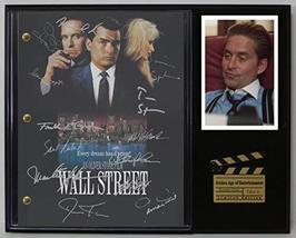 "Wall Street Ltd Edition Reproduction Signed Cinema Script Display ""C3"" - $85.45"