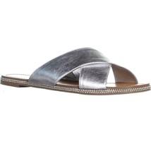 Jessica Simpson Brinella Slide Sandals, Platinum, 12 US - $38.39