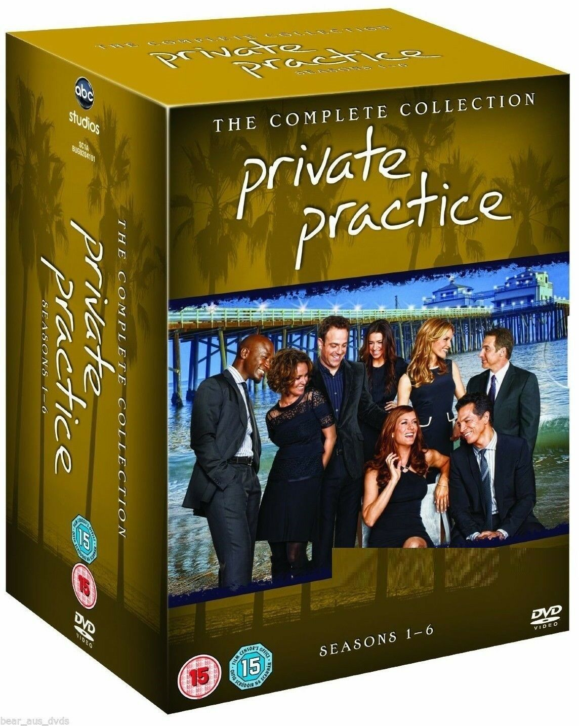 Private Practice Complete Series Seasons 1 2 3 4 5 6  [DVD Sets New]