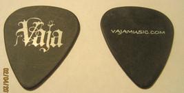 VAJA Guitar Pick Black w White Lettering - $10.76