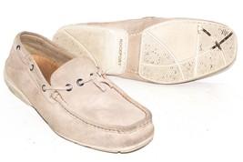 Rockport V73208 Tan Suede Leather Boat Shoes Men's Size 9 - $36.50
