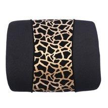 Fashion Leopard Print Car Decoration Lumbar Support/Back Cushion,Golden
