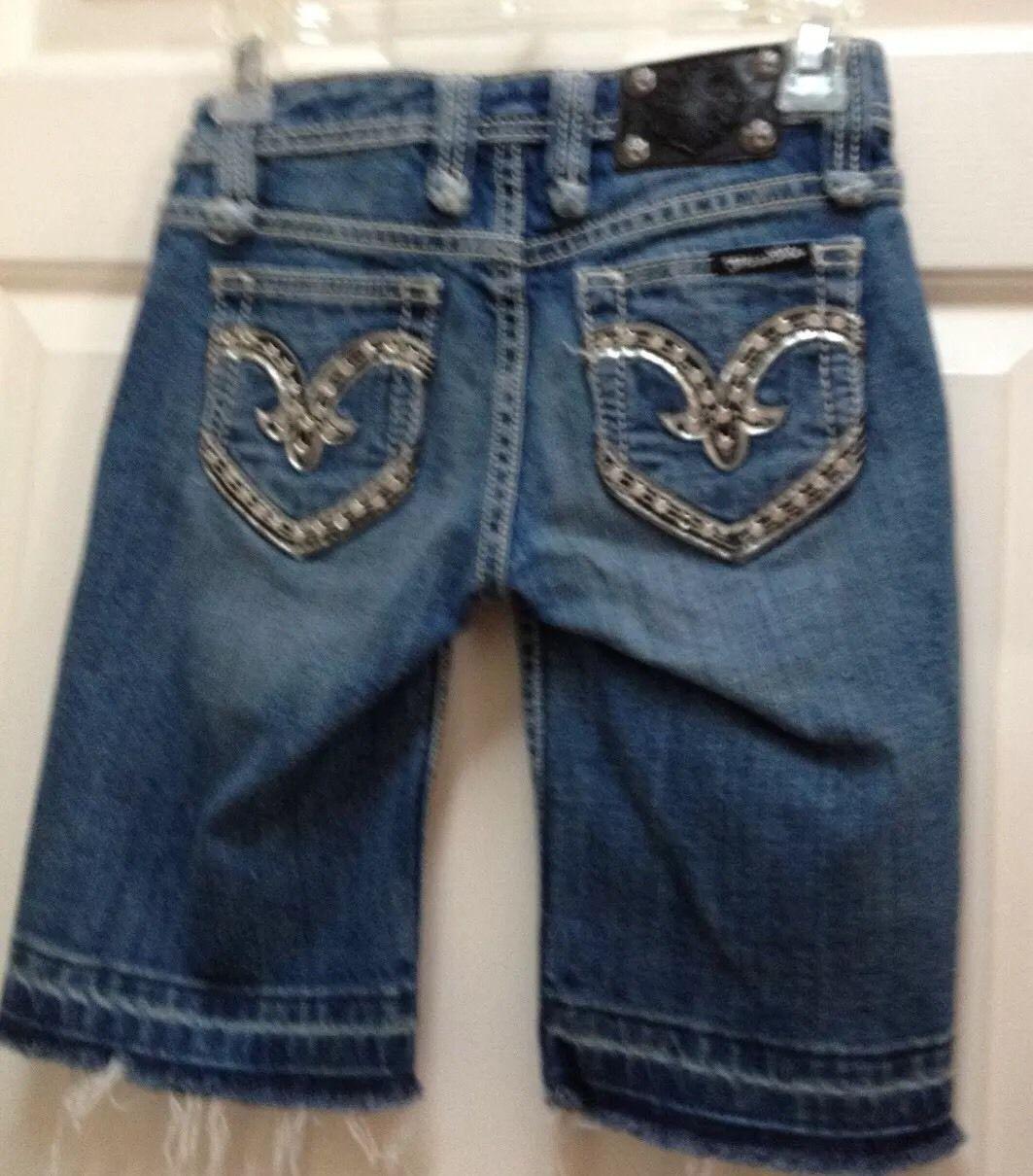 12b8d82b708 Miss Me Maltese Cross Denim Bermuda Shorts and 50 similar items
