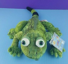 "Webkinz Green Iguana HM340 Plush Stuffed Animal Lizard Code 16""  - $14.84"