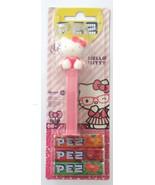 Israel 8.5 Gr X 3 Pez Pink Hello Kitty Kosher Fresh Candies Dispenser - $4.99