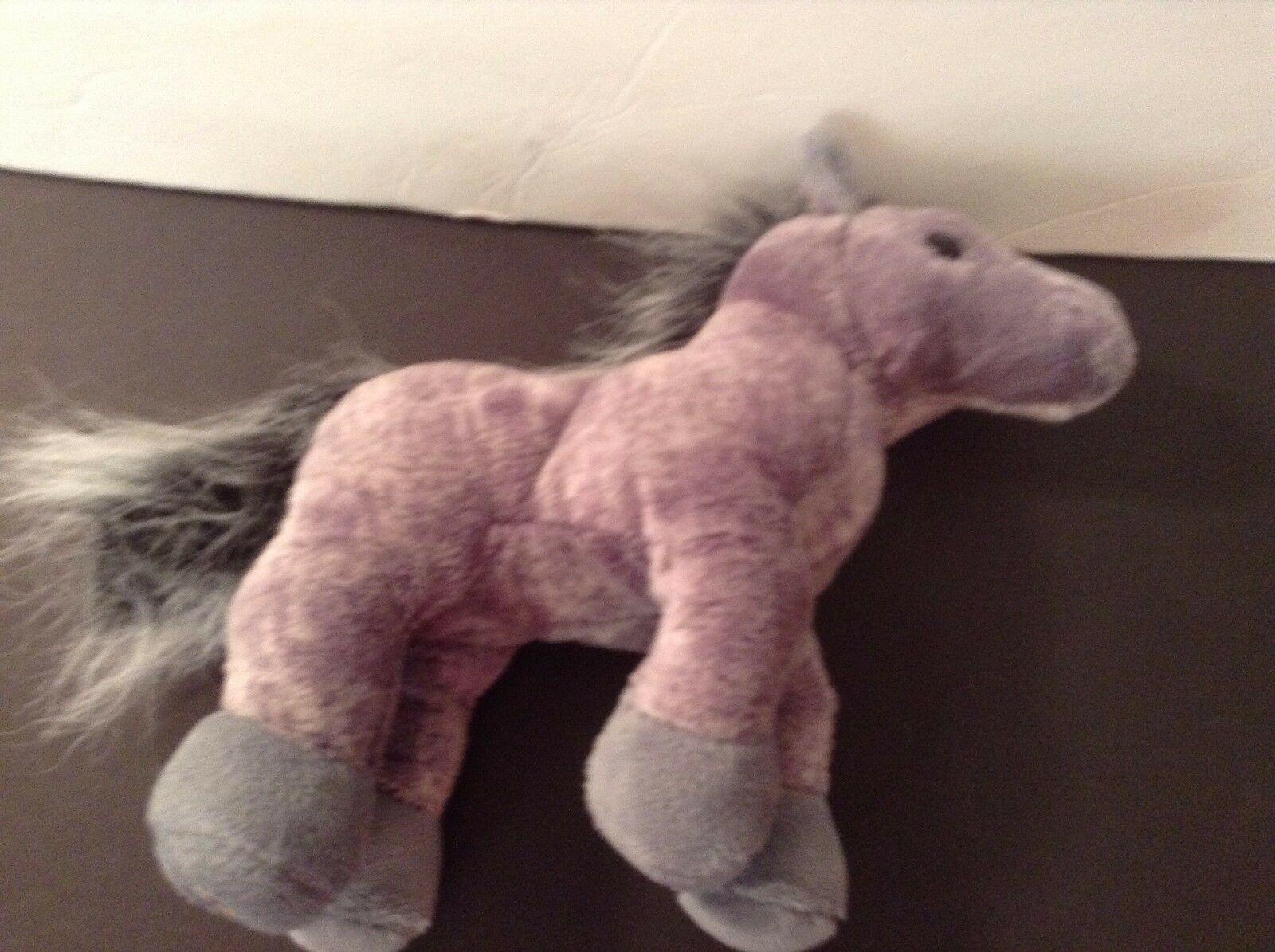 Ganz Webkinz Gray Arabian Horse plush CUTE