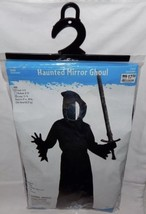 Halloween Costume Haunted Mirror Ghoul Black Child Size Small 4-6 Polyes... - $18.20