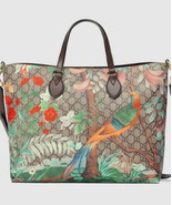 GUCCI Tian Tote Bag GG Supreme shoulder handbag flower 453705 - $2,465.10