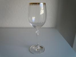 Oneida Heiress Gold Water Goblet - $6.33