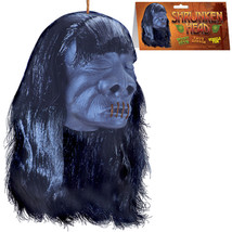 5in Gothic Luau Tiki Bar-VOODOO SHRUNKEN HEAD-Halloween Prop Decoration ... - $6.90