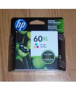 Genuine HP 60XL Tri-Color Ink Cartridge 2021 New Color 60 XL - $24.30