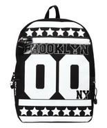 Mojo Brooklyn Stars New York City Nyc Bklyn Urban Rap Schulbuch Tasche R... - $42.09