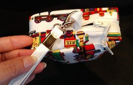 Clutch Bag/Wristlet/Makeup Bag - Trains, locomotive image 4