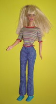 Barbie Doll with Bangs Stripe top & Jeans - $12.99
