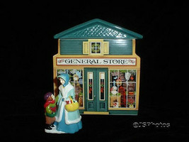 AVON VINTAGE 1982 PORCELAIN CHRISTMAS CANISTER & FIGURE - $143.93