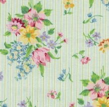 Longaberger Small Wall Pocket Basket Small Mixed Bouquet Fabric OE Liner Only - $8.86