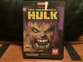 SEGA Genesis The Incredible Hulk CIB Complete - $18.37