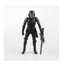 Star War Black Stormtrooper PVC Action Figures Collectible Model Toys 15... - $32.99