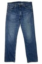 Levi's 505 Men Size 36x34 (Meas 34x33) Medium Straight Jeans Denim - $21.60