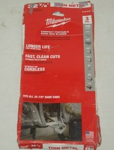 """Milwaukee 48-39-0579  32-7/8"""" 18TPI Band Saw Blade, Compact, 3 pack new/... - $19.79"""