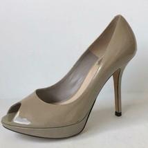Dior Miss Dior Patent Leather Miss Peep Toe Platform Pumps Heels EU 36.5 US 6 - $139.94