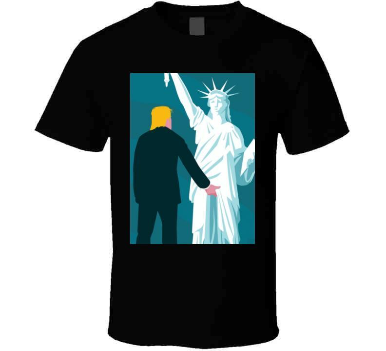 Donald Trump USA Statue of Liberty Funny President T Shirt