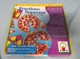 Discovery Toys Fractions Supreme Pizza Game for 6 and up (B588) - $14.00