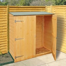 4 X 2 Wooden Storage Shed Garden Yard Greenhouse Garage Organization - $281.95