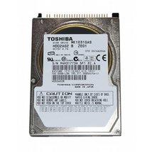 "100GB 2.5"" IDE Hard Drive Toshiba MK1031GAS"