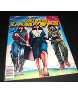 NATIONAL LAMPOON Magazine Aug 1981 The American Wet Dream  Get It Up Ame... - $17.99
