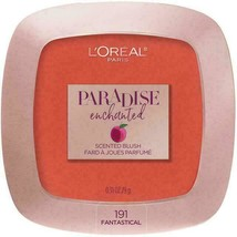 L'Oreal Paris Cosmetics Paradise Enchanted FruitScented Blush Makeup Fan... - $5.93