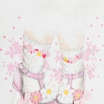Mayoral Baby Girls 3-Piece Girl-Sandals Graphic Print Cardigan/Legging Set image 4
