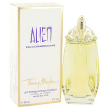 Alien Eau Extraordinaire 3 oz Eau De Toilette Spray Refillable 100% Auth... - $50.30