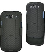 Aduro Galaxy S3 Shell Holster Combo Case With Kick-Stand For AT and T, ... - $16.99