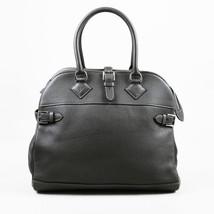 "Hermes ""Atlas 35"" Graphite Clemence Leather Bag - $3,010.00"