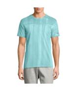 Champion Bleached Wash Crewneck Cotton T-Shirt,  Aqua, 2X-Large - $20.78