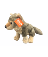 "Wild Republic Nashville Zoo 12"" Cuddlekins Wolf Plush Toy - $19.46"