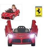 Rastar Ferrari LaFerrari Ride On Car with Remote Control for Kids   12V ... - $259.38