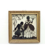 "Vintage Framed Silhouette ""Proposal""  - $24.00"