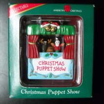 American Greetings Christmas Ornament Christmas Puppet Show Sealed Blister Boxed - $12.99