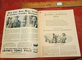 Vintage 1941 Jayne's Almanac Home Maker's Guide & Hand Book Useful Information image 3